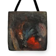 Mr. Cheney Arrives In Hell Tote Bag