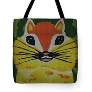 Mr Chipmunk Tote Bag