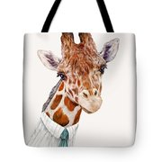 Mr Giraffe Tote Bag