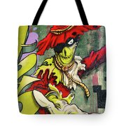 Mr. Graffiti Tote Bag