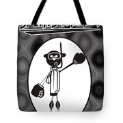 Mr. Jock Tote Bag by Maria Watt