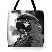 Mr Macaw The Parrot Tote Bag