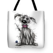Mr Mucky Paws Tote Bag