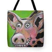 Mr Pig Tote Bag