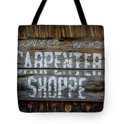 Mr. Sawyer Wood Tote Bag