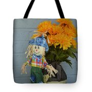 Mr Scarecrow Tote Bag