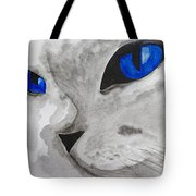 Mr Silver Tote Bag