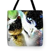 Mr. Space Kitty Tote Bag
