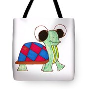 Mr. Turtle Tote Bag