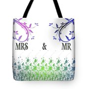 Mrs And Mr Tote Bag