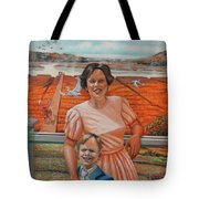 Mrs. Curry And Son Tote Bag