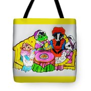 Mrs. Mouse Tea Party Tote Bag