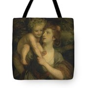 Mrs Hartley As A Nymph With A Young Bacchus Tote Bag