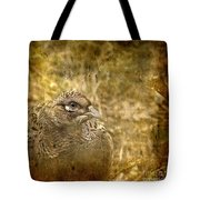 Mrs Pheasant Tote Bag