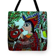 Love And Worship For Cow Tote Bag