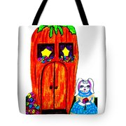 Ms. Bunny's Carrot House Tote Bag