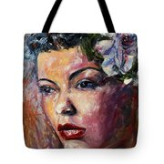 Ms. Lady Day Tote Bag