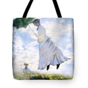 Ms Monet Blown Away  Tote Bag