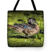 Ms. Wood Duck Tote Bag