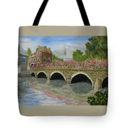 Ms23 French Stone Bridge  Tote Bag