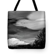 Mt Adams With Lenticular Cloud Tote Bag