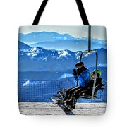 Up The Mountain  Tote Bag