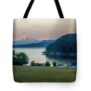 Mt Baker At Sunset Tote Bag