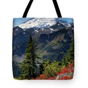 Mt. Baker Autumn Tote Bag