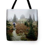 Mt Brown Lookout - Glacier National Park Tote Bag