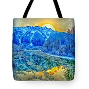 Mt Currie Fantasy Tote Bag