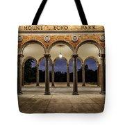 Mt Echo Pavilion Tote Bag