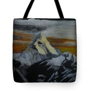 Mt Everest Tote Bag by Richard Le Page