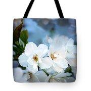 Mt. Fuji Cherry Blossoms Tote Bag