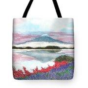 Mt. Fuji Morning Tote Bag