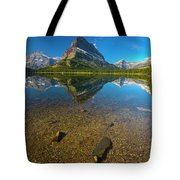 Mt. Grinnell Tote Bag by Gary Lengyel