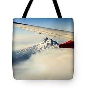 Mt Hood Aerial View Tote Bag