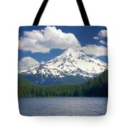 Mt Hood From Lost Lake Tote Bag