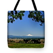 Mt Hood From Rocky Butte Tote Bag