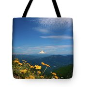 Mt. Hood In The Distance Tote Bag