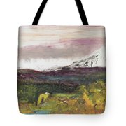 Mt Hood Mirage Tote Bag