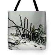 Mt Hood Snow Tote Bag