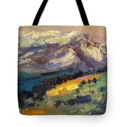 Mt Hood View From Chinook Landing Tote Bag