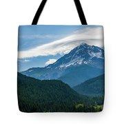 Mt Hood With Lenticular Cloud 2 Tote Bag