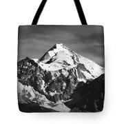 Mt Huayna Potosi In Monochrome Tote Bag