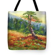 Mt. Jumbo Tree Ak Tote Bag