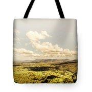 Mt Mee Vintage Landscape Tote Bag