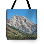 Mt Moran At The Grand Tetons Tote Bag