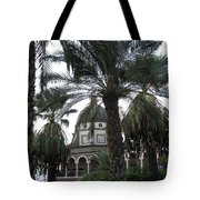 Mt Of Beatitudes Tote Bag