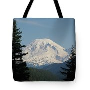 Mt Rainer From The Hills In Packwood Wa  Tote Bag