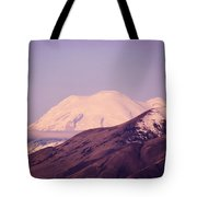 Mt Rainer From The Wenas Valley  Tote Bag